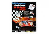 Магнитная доска Porsche Magnetic board – 1970 racing poster