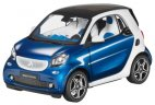 Модель Smart Fortwo Coupé, Proxy, Scale 1:18, Blue-White