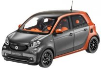 Модель Smart Forfour Prime, Scale 1:18, Graphite Grey - Copper
