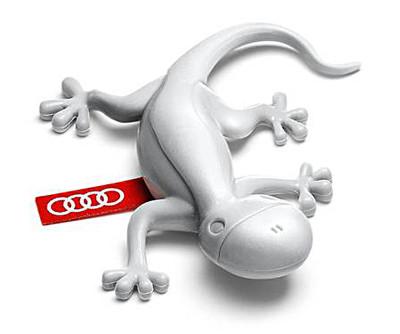 Ароматизатор воздуха в салон Audi Gecko Cockpit Air Freshener, Pine-Orange