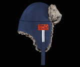 Шапка-ушанка Mini Lapper Hat, You.Me.Mini. Blue, артикул 80162338861