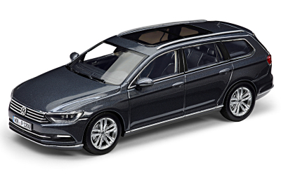 Модель автомобиля Volkswagen Passat Estate B8, Scale 1:43, Indium Grey Metallic