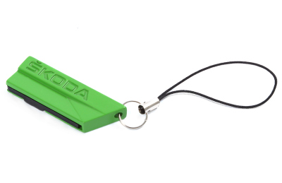Флешка Skoda Logo Flash Drive USB, 4Gb, Green