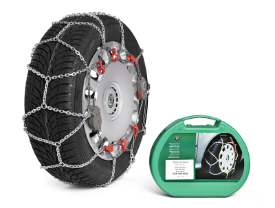 Комплект цепей противоскольжения Skoda Snow chains – 195/65 R15