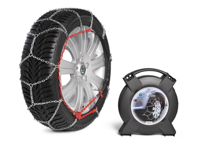 Комплект цепей противоскольжения Skoda Snow chains for Octavia, Yeti and Superb cars