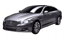 Модель автомобиля Jaguar XJ Diecast Model, Grey, Scale 1:24