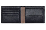 Мужской кошелек Volkswagen Leather Wallet For Men, Black, артикул 3D0087400BGXU