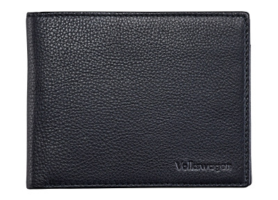 Мужской кошелек Volkswagen Leather Wallet For Men, Black 2017