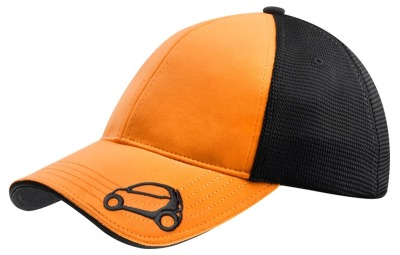 Бейсболка Smart Cap Passion, Black-Orange