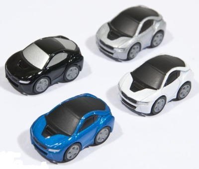 Комплект моделей BMW Vision EfficientDynamics Fun Car Set, Scale 1-100