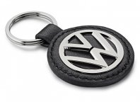 Брелок Volkswagen Logo Keyring Metal-Leather