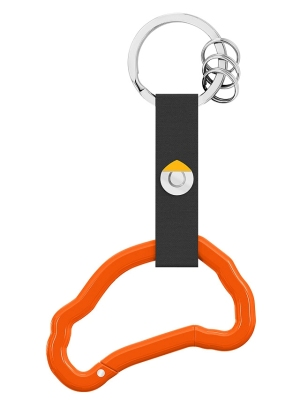 Брелок Smart Snap Hook Key Ring, Orange