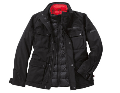 Мужская куртка Porsche 2-in-1 Jacket Men, 911 Collection, Black