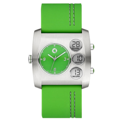 Наручные часы унисекс Smart Unisex Wrist Watch Electric Drive, Green