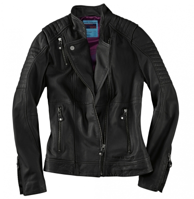 Женская кожаная куртка BMW Motorrad Ladies Roadster Leather Jacket, Black
