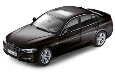 Модель автомобиля BMW 3 Series Saloon Black Saphir, Scale 1:18
