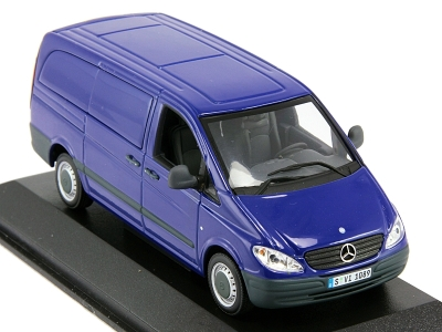 Модель Mercedes-Benz Vito, Scale 1:43, Blue