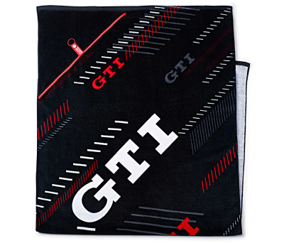 Банное полотенце Volkswagen GTI Bath Towel, Black