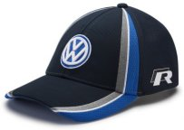 Бейсболка Volkswagen Rally the World Baseball Cap, Blue