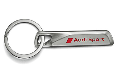 Брелок Audi Sport Key Ring Stainless Steel, Silver
