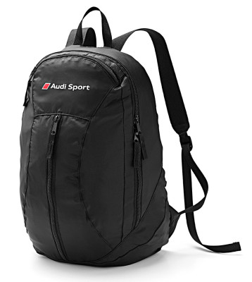 Складной рюкзак Audi Sport Backpack Packable, Black