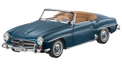 Модель Mercedes-Benz 190 SL, W121, 1955-63, Blue Metallic, Scale 1:18