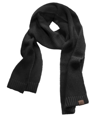 Мужской вязаный шарф Mercedes-Benz Men's Knitted Scarf, Black