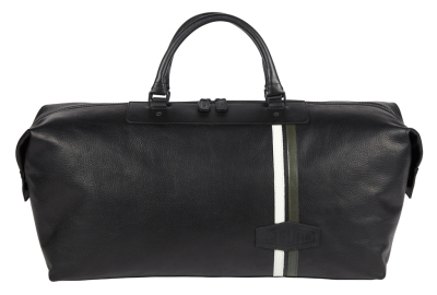 Кожаная дорожная сумка Jaguar Heritage Leather Holdall, Steve McQueens Green Rat XKSS