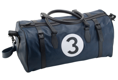 Дорожная сумка Jaguar Heritage 57 Holdall, Leather, Blue