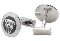 Запонки Jaguar Growler Graphic Cufflinks - Black