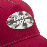 Бейсболка Land Rover Union Flag Badge Cap - Red, артикул LACH015RDA