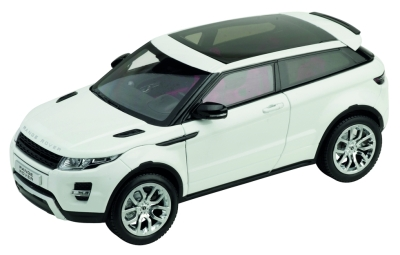 Модель автомобиля Land Rover Evoque, Scale 1:18, Fuji White