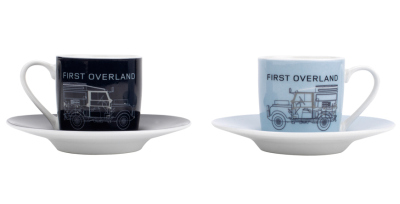 Набор из четырех чашек для эспрессо Land Rover Heritage Espresso, Set of 4
