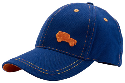 Детская бейсболка Land Rover Kids Defender Baseball Cap, Blue-Orange