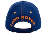 Детская бейсболка Land Rover Kids Defender Baseball Cap, Blue-Orange, артикул LRBCB37