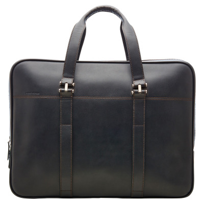 Кожаный портфель Land Rover Leather Briefcase - Black