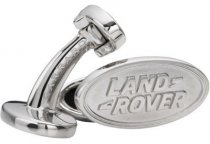 Запонки Land Rover Oval Cufflinks - Silver