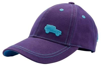 Детская бейсболка Land Rover Kids Defender Baseball Cap, Purple-Blue