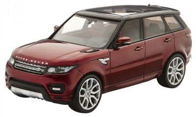 Модель автомобиля Range Rover Sport, Scale 1:43, Chile Red