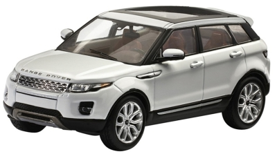 Модель автомобиля Range Rover Evoque 5 Door, Scale 1:43, Fuji White