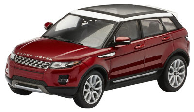 Модель автомобиля Range Rover Evoque 5 Door, Scale 1:43, Firenze Red