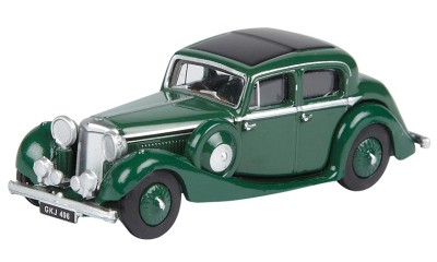 Модель автомобиля Jaguar SS 2.5 Saloon, Scale Model 1:76, Suede Green