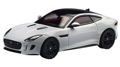 Модель автомобиля Jaguar F-Type Coupe R, Scale 1:43, White