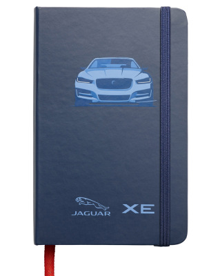 Блокнот Jaguar XE Notebook, Blue