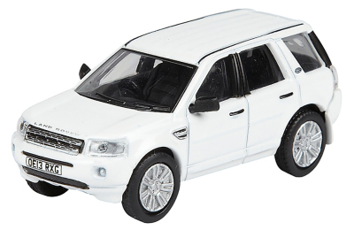 Модель автомобиля Land Rover Freelander, Scale Model 1:76, Fuji White