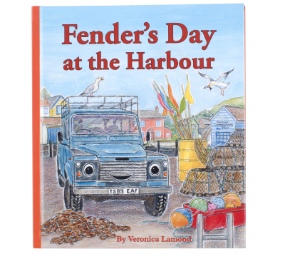 Детская книжка Land Rover Fender's Day At The Harbour, Children's Book No.4