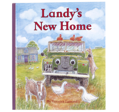 Детская книжка Land Rover Landy's New Home, Children's Book No.3