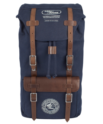 Ретро рюкзак Land Rover Heritage Rucksack, Blue-Brown
