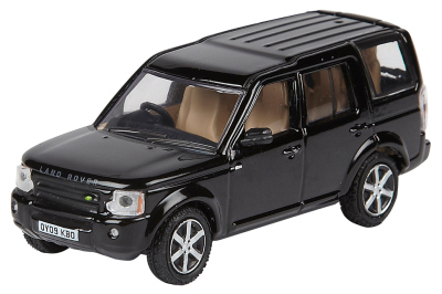 Модель автомобиля Land Rover Discovery, Scale Model 1:76, Santorini Black