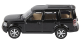 Модель автомобиля Land Rover Discovery, Scale Model 1:76, Santorini Black, артикул LBDC540BKA